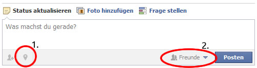Der Facebook-Publisher ab heute (Screenshot: Frank Krause / Facebook)