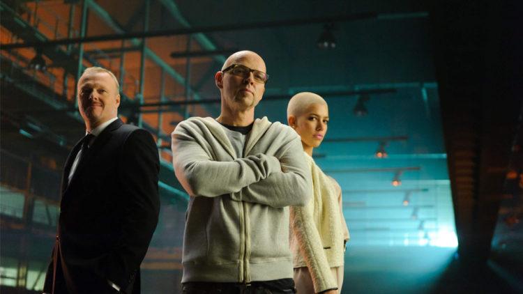 Jury-Präsident Thomas D mit Alina Süggeler und Stefan Raab (Foto: ProSieben/Willi Weber)
