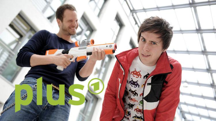 Die Reload-Moderatoren Frederik Peters und Stefan Bächle (Foto: SWR/Stephanie Schweigert / ARD Digital)