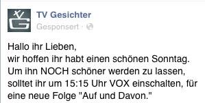 Gesponserte Posts auf Facebook (Screenshot: Frank Krause / Facebook)
