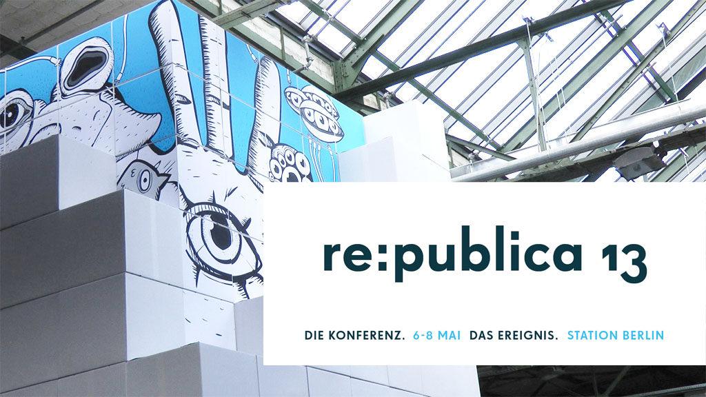 re:publica 13 (Foto: Frank Krause, Logo: re:publica)