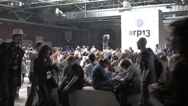 Die zentrale Halle der re:publica 13 (Foto: Frank Krause)