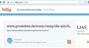 Bitly-Statistiken für einen beliebigen Link (Screenshot: bitly / Frank Krause)