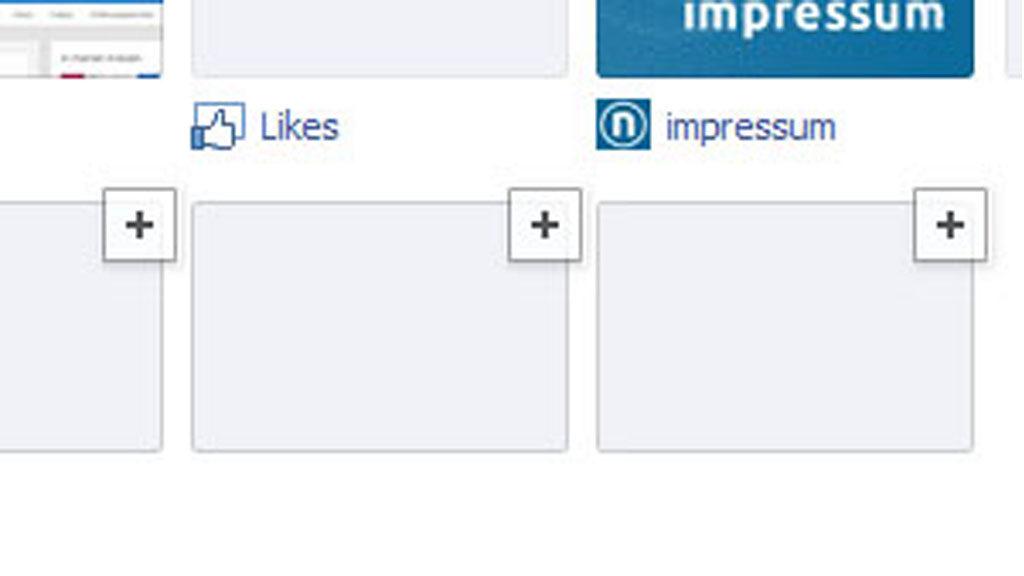 Facebook-Tabs (Screenshot: Facebook / Frank Krause)