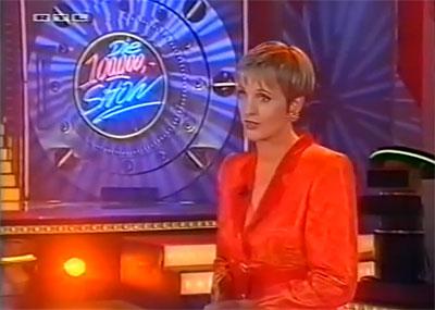 Die 100.000 Mark Show, moderiert von Ulla Kock am Brink (Screenshot: RTL)