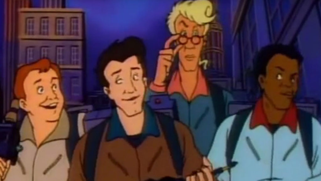 The Real Ghostbusters (Screenshot: Frank Krause / Columbia Pictures Television)