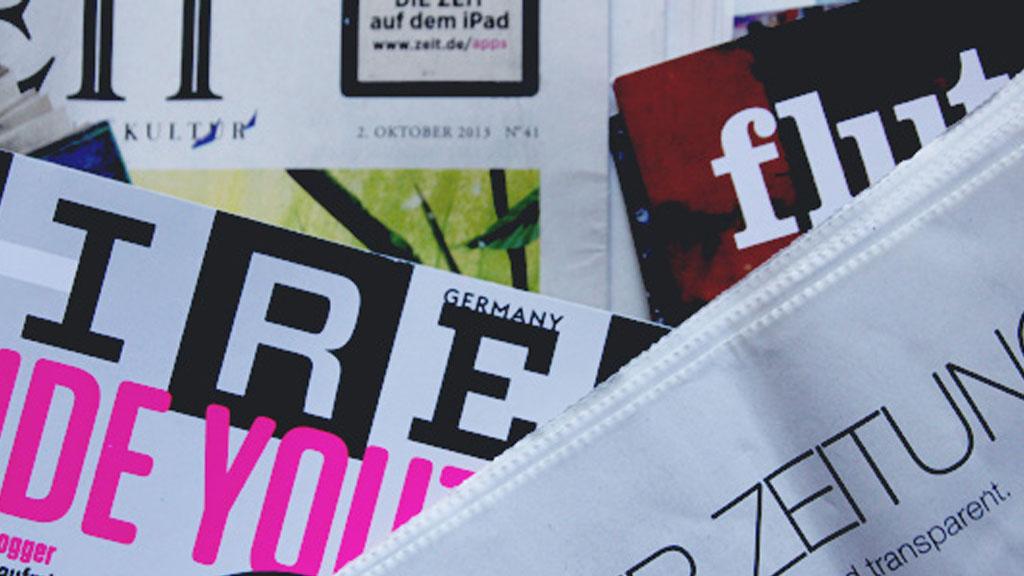 Pressevielfalt in Deutschland (Foto: Frank Krause)