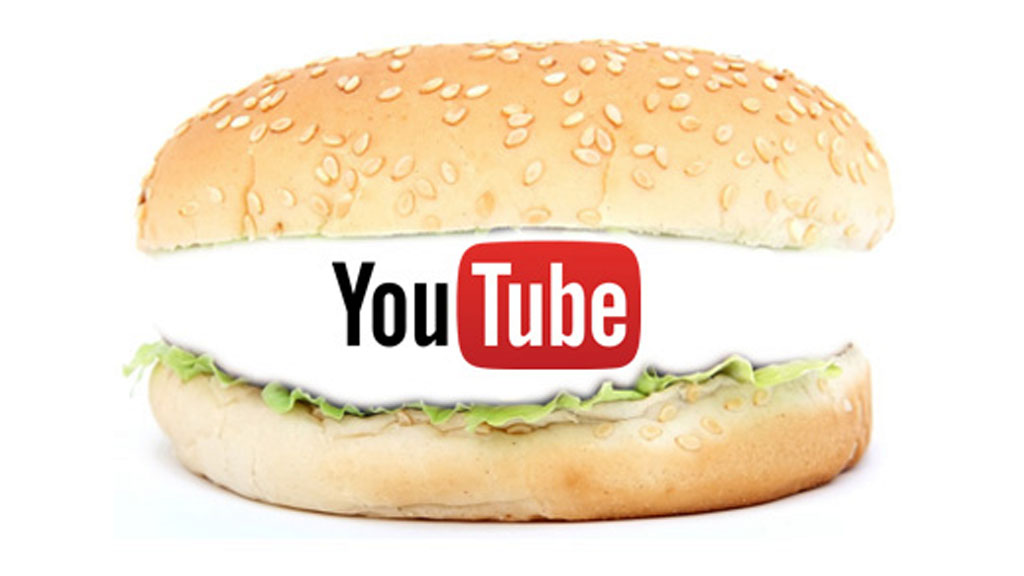 Youtube ist oft nur billiges Fastfood (Montage: Frank Krause / Logo: Youtube)