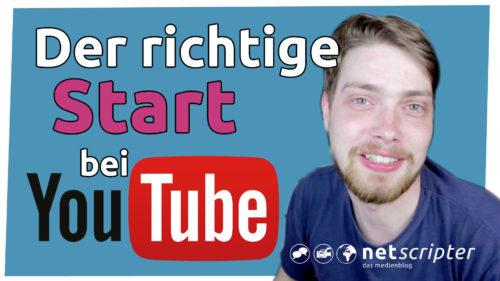 5 Tipps für den eigenen Youtube-Kanal