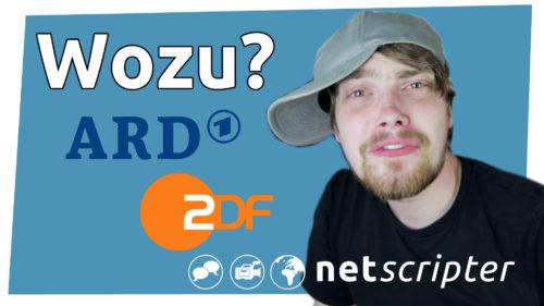 Brauchen wir ARD und ZDF?