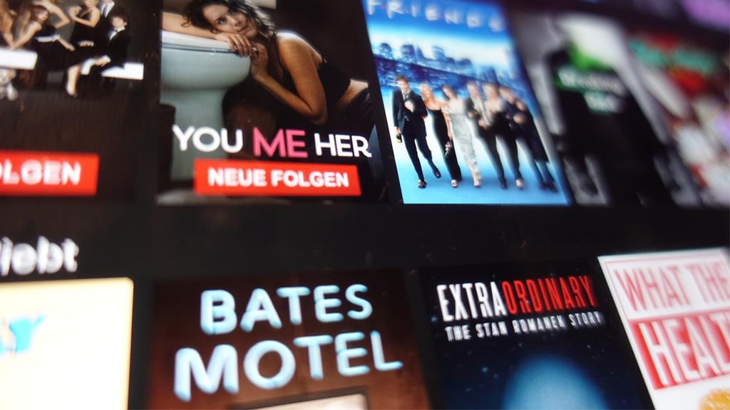 Netflix bietet unzählige Serien, für mich manchmal zu viele. (Foto: Frank Krause)