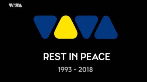 Die letzten Sekunden von VIVA im deutschen Fernsehen. (Screenshot: VIVA)