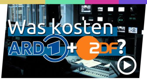Für was geben ARD und ZDF ihre 17,50 Euro aus?